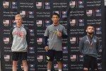АКШнын Колорадо-Спрингс шаарында өткөн эркин күрөш боюнча эл аралык турнирде Кыргызстандын гимни жаңырды. Бул мелдештен кыргызстандык балбан Самат Надырбек уулу алтын медаль багындырды