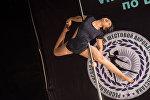 Восьмой Республиканский чемпионат по шестовой акробатике в Бишкеке