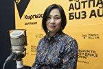 Бишкек мэриясынын Жашыл чарба муниципалдык ишканасынын башчысы Элнура Жолдошева