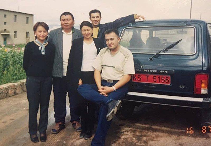 Вице-премьер-министр КР Темир Джумакадыров и глава КТРК Илим Карыпбеков