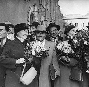 Известные кыргызстанцы в Москве