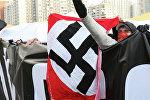 Акция националистов. Архивное фото