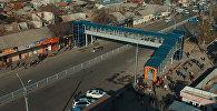 Бишкекте биринчи жолу жер үстүндөгү өтмөк ачылды. Видео