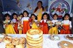 Кара-Кулжанын борбордук аянтында Бал фестивалы