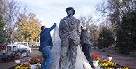 Открытие памятника народному артисту Суймонкулу Чокморову