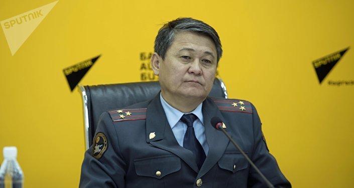 Кайгуул милиция башкы башкармалыгынын жетекчи орун басары Ыманалы Саркулов