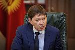 Премьер-министр Кыргызской Республики Сапар Исаков. Архивное фото