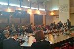 Научная конференция на тему Взаимодействие литератур и художественный перевод в многонациональной культуре Кыргызстана в КРСУ