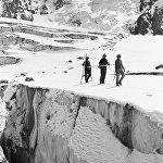 Мөңгү изилдөөчүлөр Тянь-Шань тоолорунда, 1978-жыл