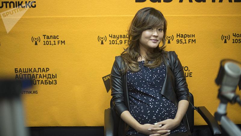 Маркетолог в сфере развлечений Галина Ким во время интервью Sputnik Кыргызстан