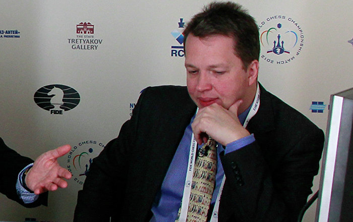 Архивное фото гроссмейстера Найджела Шорта