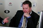 Белгилүү эл аралык гроссмейстер Найжел Шорт. Архив