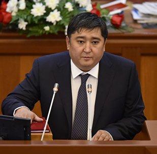 Жогорку Кеңештин депутаты Улан Чолпонбаев. Архив