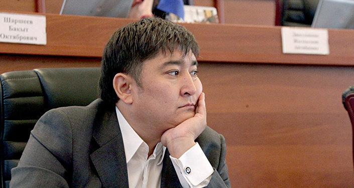 Архивное фото депутата ЖК Улана Чолпонбаева