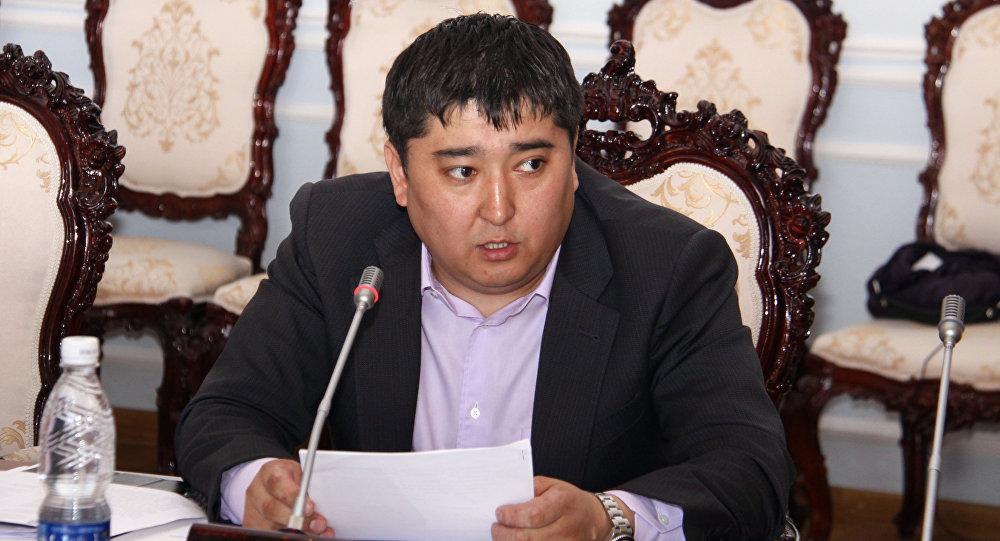 Архивное фото депутата Жогорку Кенеша Улана Чолпонбаева
