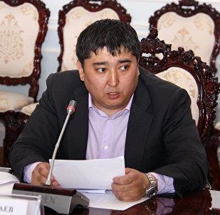 Депутат Улан Чолпонбаевдин архивдик сүрөтү