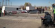 Кайгуул милиция башкы башкармалыгы Бишкек — Ош жолунда (Сосновка посту) рейд өткөргөн