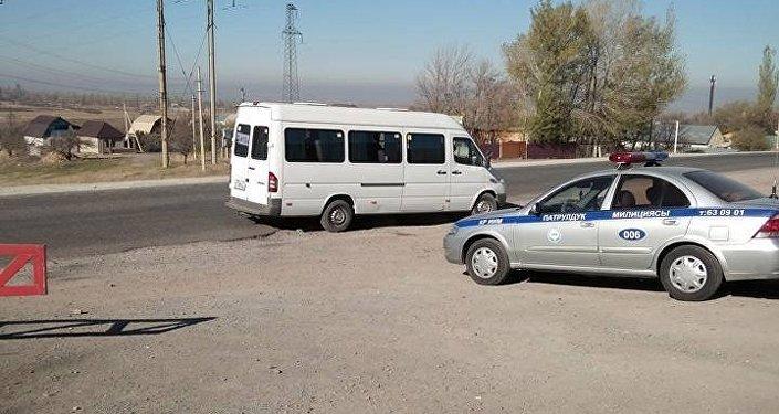 Рейд на трассе Бишкек — Ош (пост Сосновка)