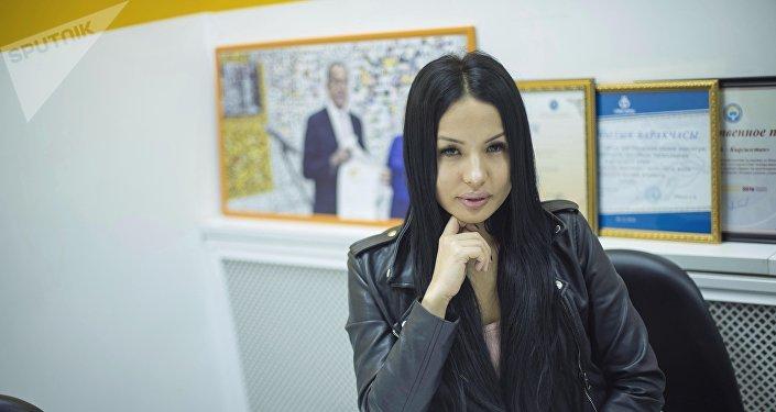 Директор модельного агентства Камилла Джикия