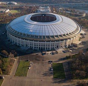 Большая спортивная арена Лужники в Москве. Архивное фото
