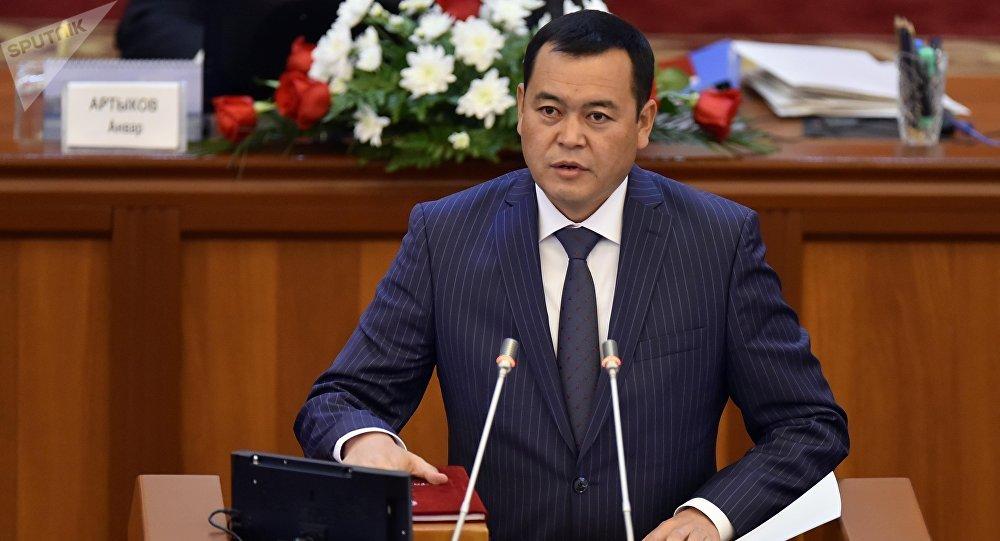 Жогорку Кеңештин депутаты Мирлан Бакировдун архивдик сүрөтү