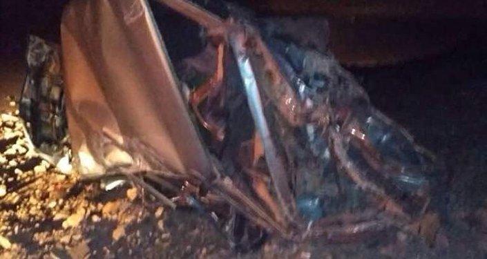 ВАЗ-2106 унаасын айдап бараткан Алай районунун 45 жаштагы айдоочусу жардан кулап кеткен.