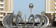 Вид на город Астану. Архивное фото