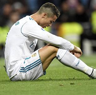 Португальский форвард Реал Мадрида Криштиану Роналду