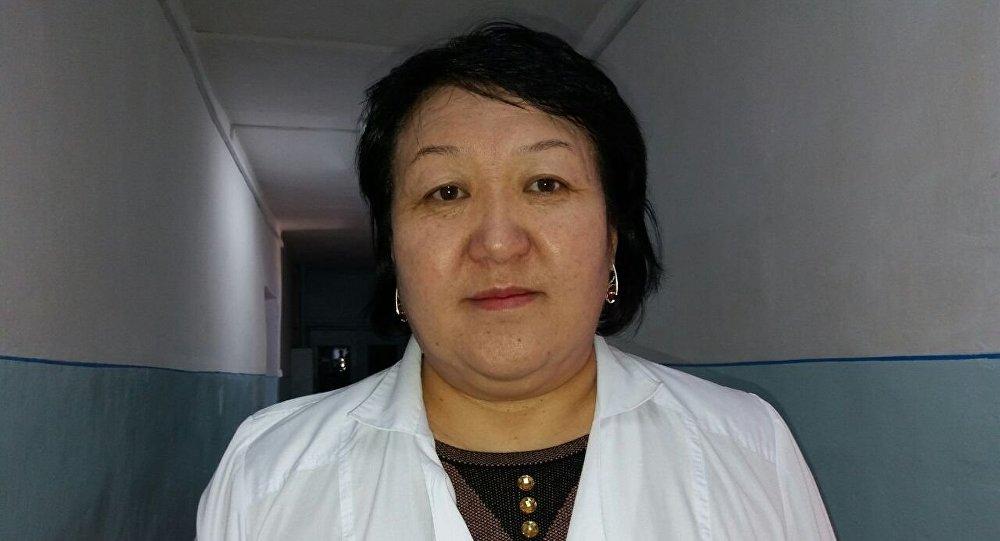 Заведующий Нарынской районной семейной медицины Сыяпат Сырдыбаева