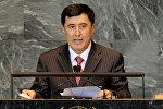 Архивное фото экс-заместителя министра иностранных дел Республики Узбекистан Владимира Норова