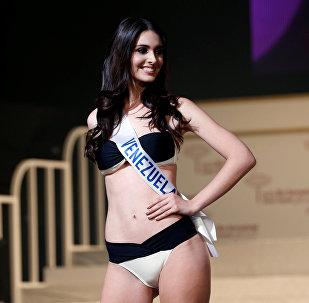 Венесуэлалык Макарена Кросе Гарсия конкурста экинчи вице-мисс болду