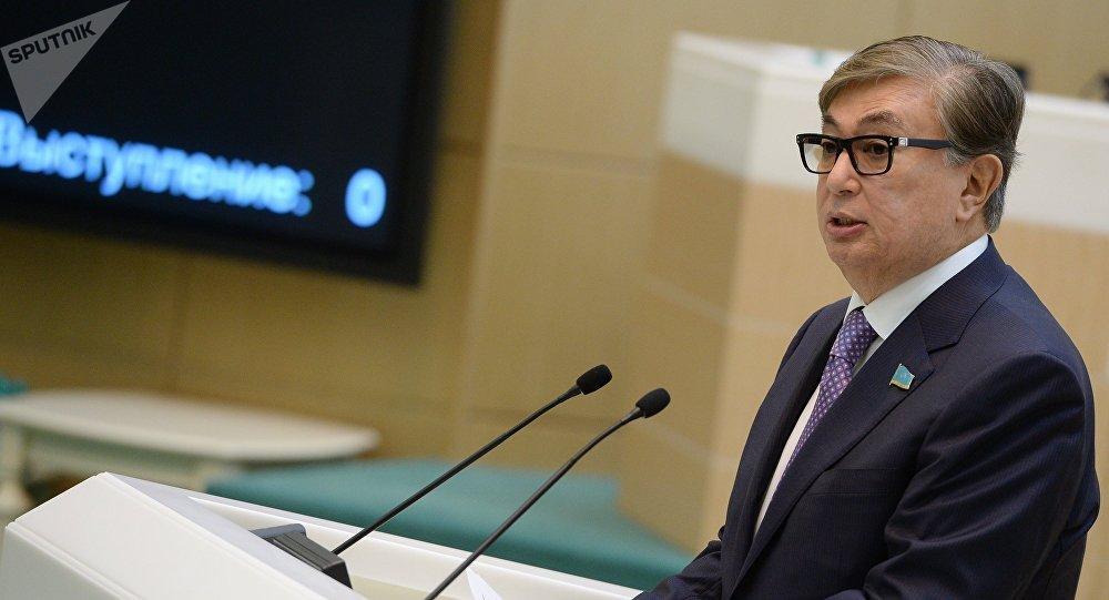 парламент сенатынын төрагасы Касым-Жомарт Токаев