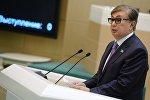 Новый президент РК Касым-Жомарт Токаев. Архивное фото