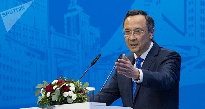 Архивное фото министра иностранных дел Казахстана Кайрата Абдрахманова