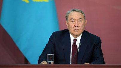 Казакстандын тунгуч президенти, Элбашы Нурсултан Назарбаев. Архив