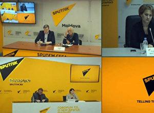 Вопросы воспитания толерантности обсудили в МПЦ Sputnik Кыргызстан