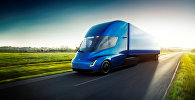 Презентация компанией Tesla Inc. прототипа электрического грузовика Tesla Semi