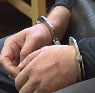Задержание А. Сухоносовой и Д. Долгополова, обвиняемых в государственной измене