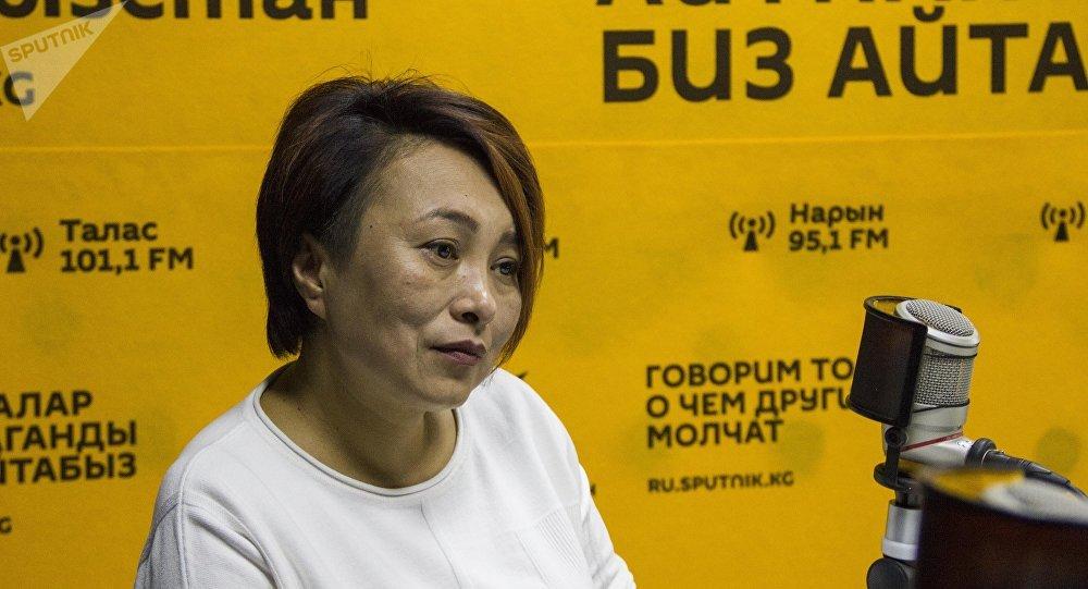 Директор общественного фонда Наш голос Айнура Ормонова. Архивное фото