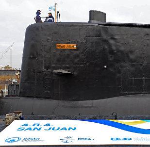 Подводная лодка ARA San Juan в Буэнос-Айресе