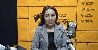 Социалдык өнүктүрүү министрлигинин Мамлекеттик жөлөк пулдар жана акчалай компенсация башкармалыгынын жетектөөчү адиси Айкөл Тургунбаева