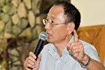 Научный сотрудник Института философии, политологии и права Академии наук Таджикистана, председатель Общества корейцев РТ Виктор Ким
