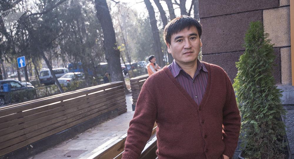 Кыргызстандык актёр Болот Тентимишов. Архив
