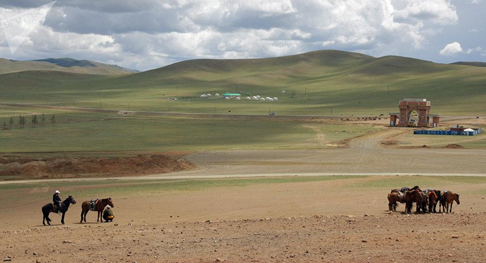 Виды Монголии. Архивное фото
