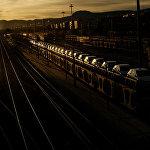 Железнодорожная станция города Памплона (Испания)
