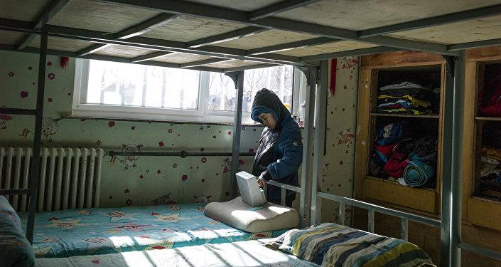 Воспитанник одного из детских домов. Архивное фото