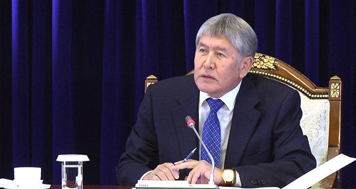 Атамбаев рассказал, что его пугает в вопросе о ледниках — видео