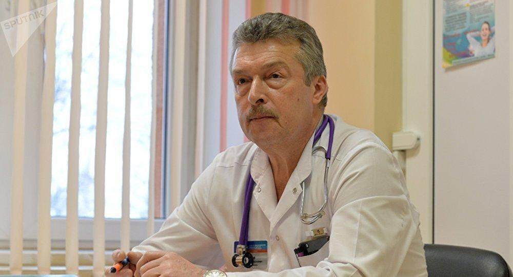 Известный минский педиатр, заведующий приемным отделением 3-й детской больницы Минска Дмитрий Чеснов. Архивное фото