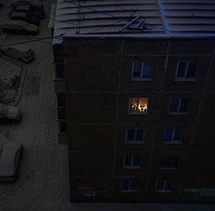 Дом без света. Архивное фото