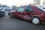 Токомбаев жана Жукеев-Пудовкин көчөлөрүнүн кесилишинде болгон жол кырсык